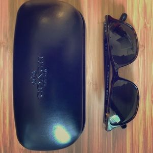Coach women's sunglasses with case
